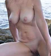 kåt nudist kvinna